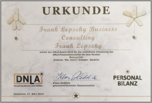 DNLA Award 2015